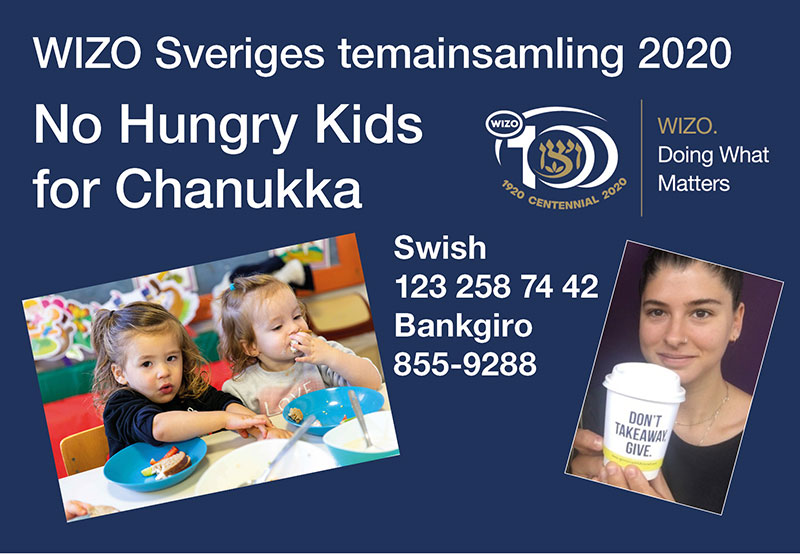 Insamling No Hungry Kids med insamlingsmugg