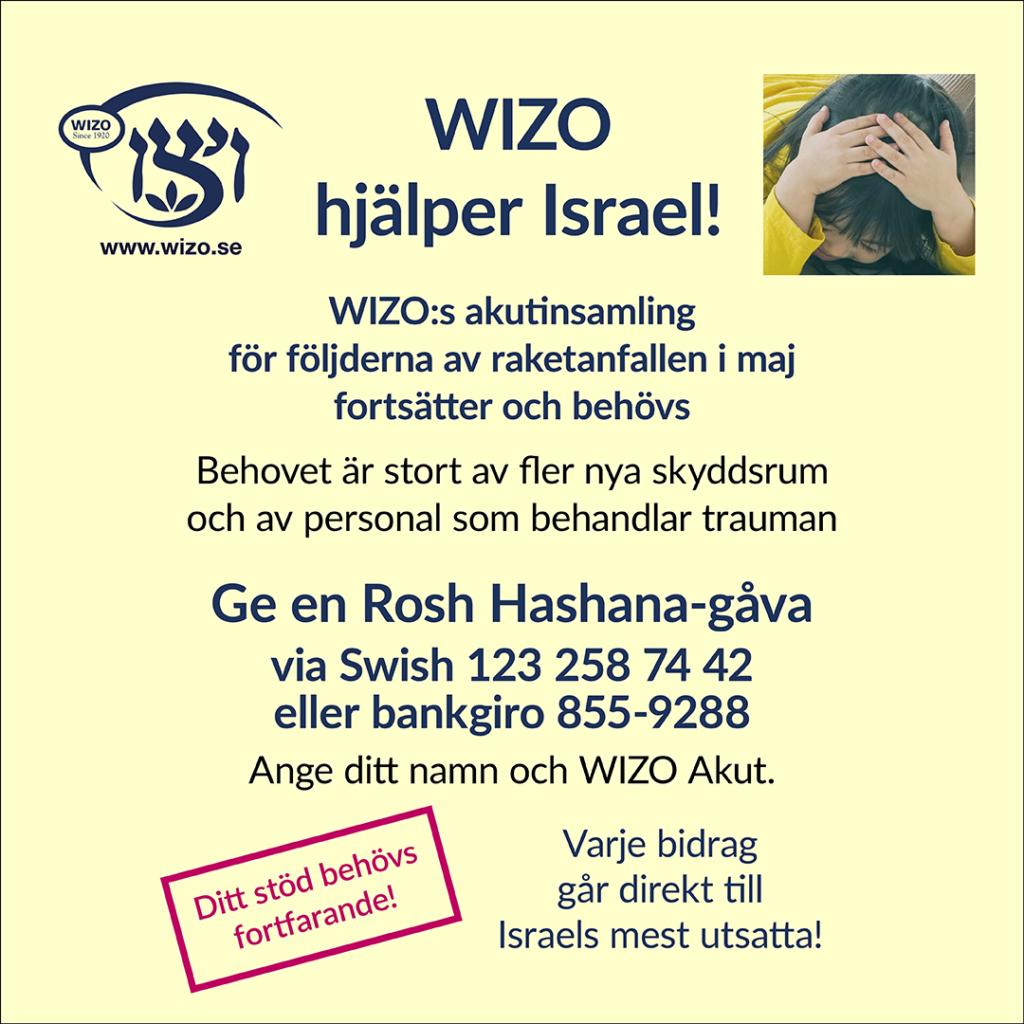 Rosh Hashana-insamling