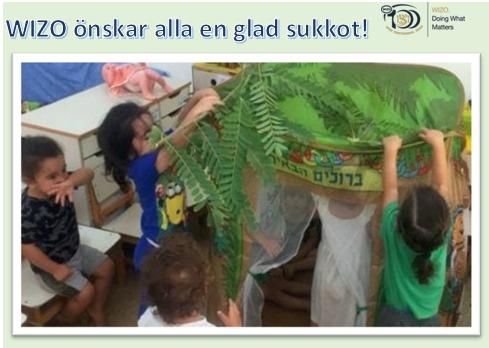 Barn bygger hydda